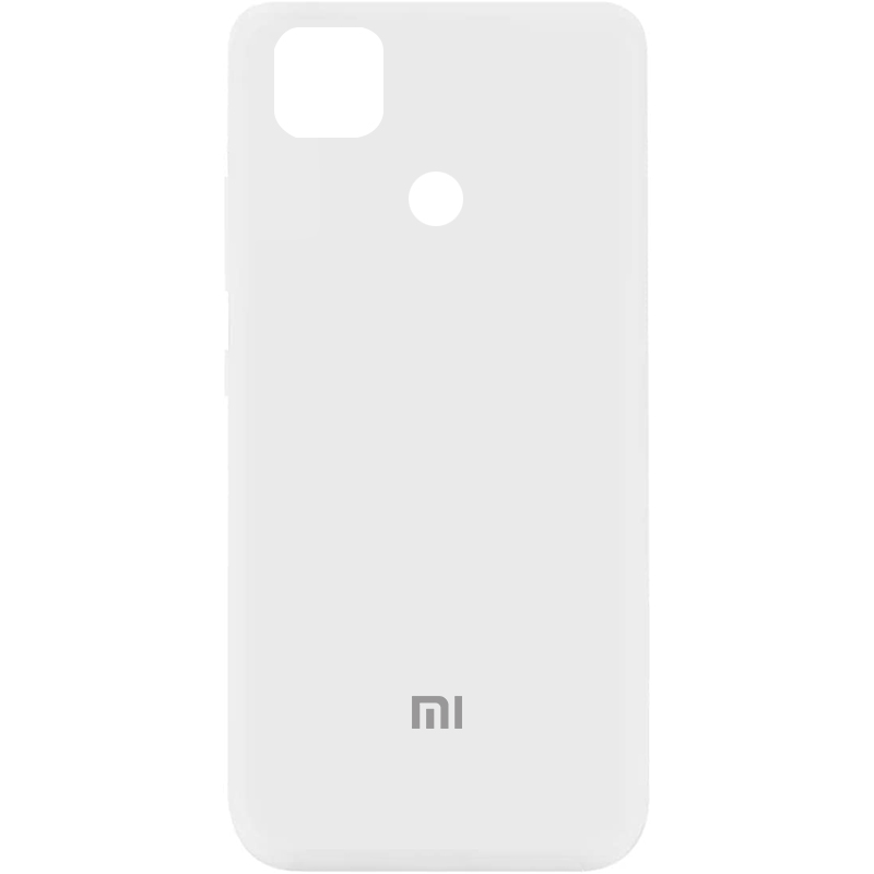 Фото Чехол Silicone Cover My Color Full Protective (A) для Xiaomi Mi 10T Lite / Redmi Note 9 Pro 5G Белый / White на onecase.com.ua