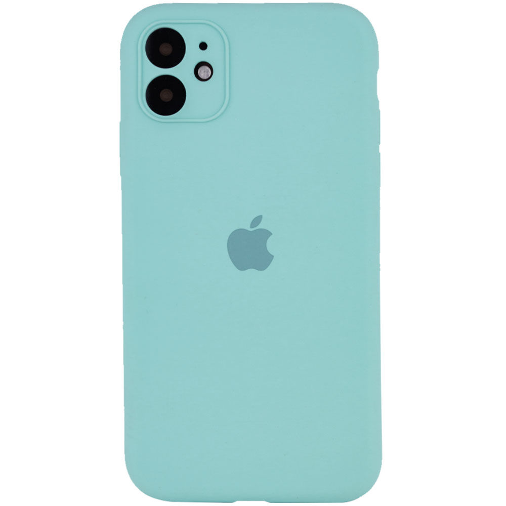 Фото Чехол Silicone Case Full Camera Protective (AA) для Apple iPhone 12 (6.1