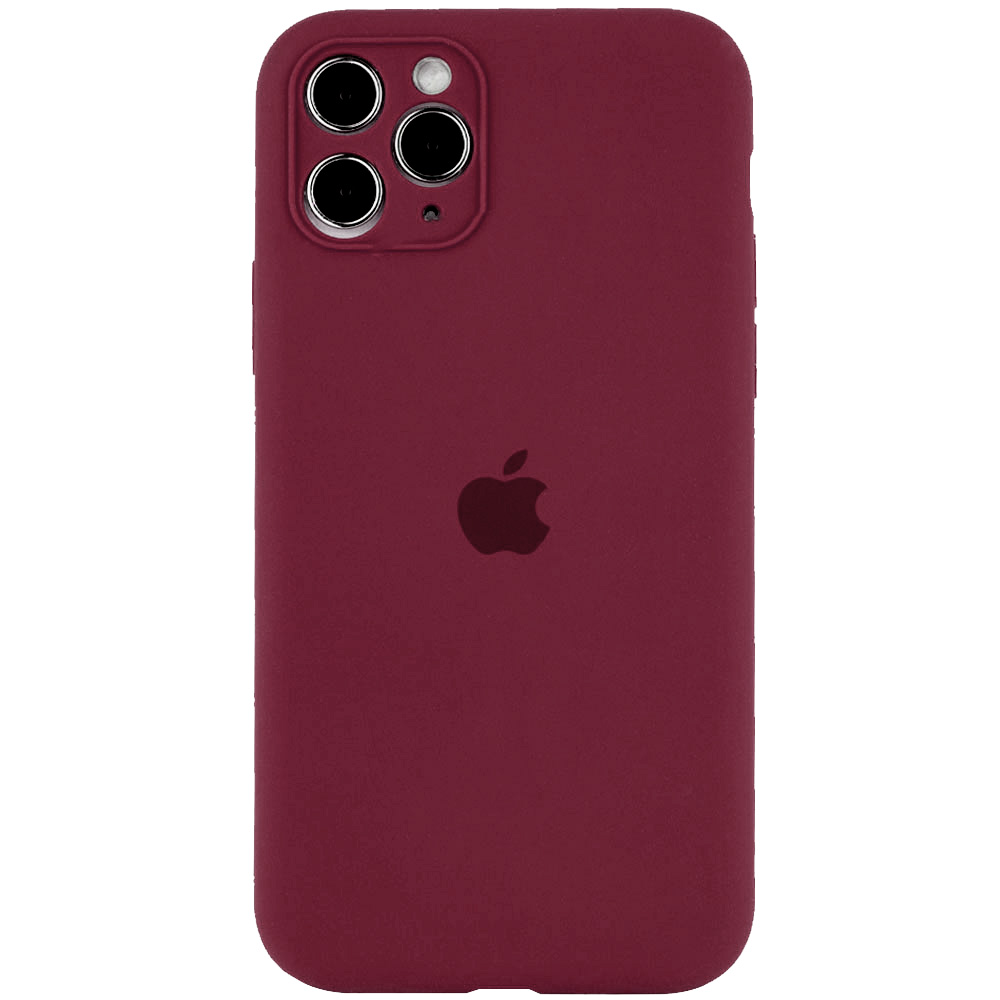 Фото Чехол Silicone Case Full Camera Protective (AA) для Apple iPhone 12 Pro Max (6.7