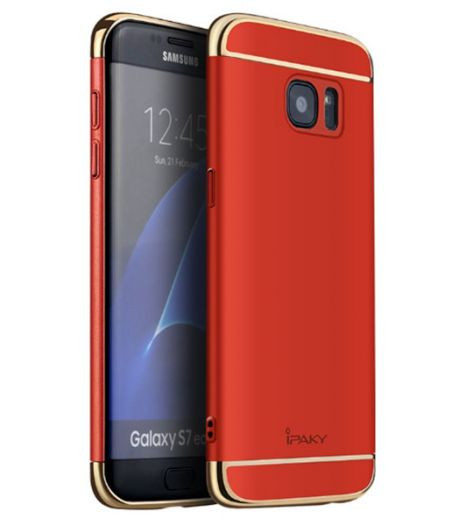 Чехол iPaky Joint Series для Samsung G935F Galaxy S7 Edge (Красный)