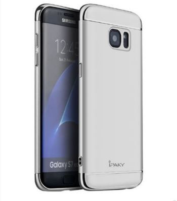 Чехол iPaky Joint Series для Samsung Galaxy S7 Edge (G935F) (Серебряный)