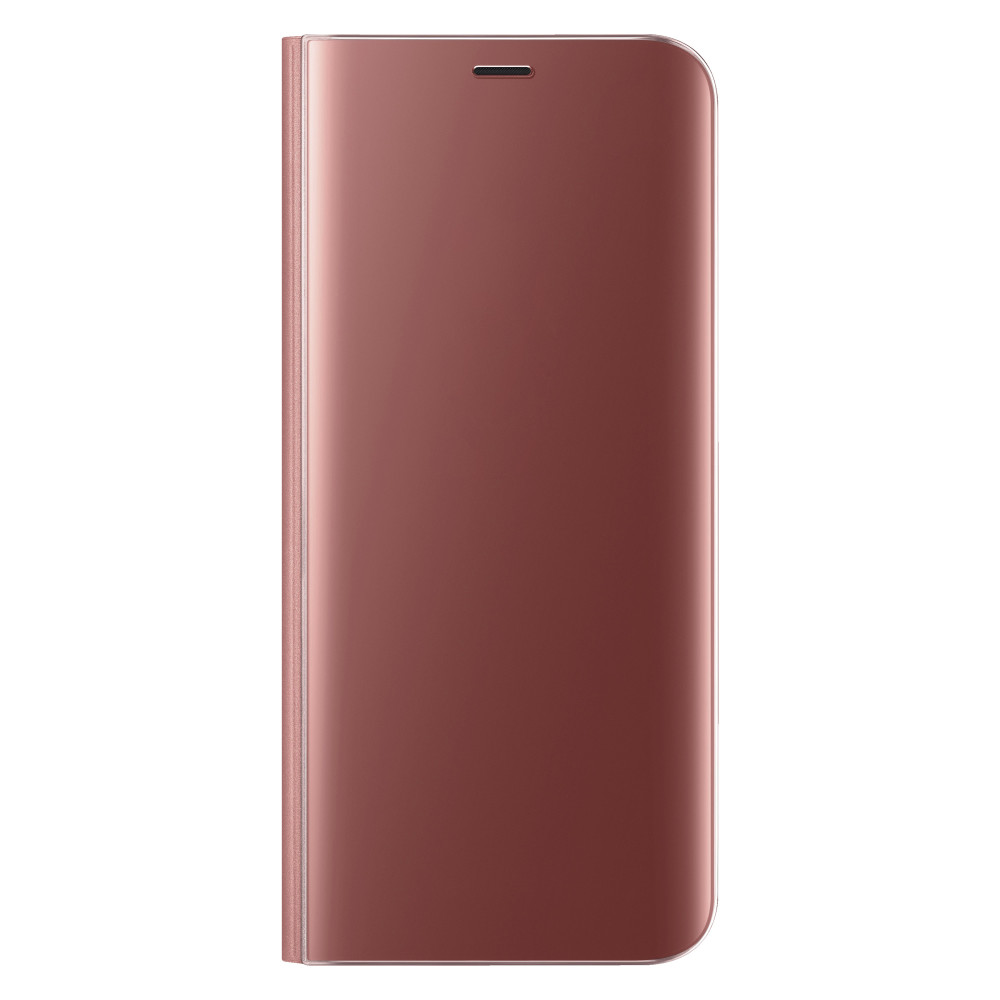 Чехол-книжка Clear View Standing Cover для Samsung Galaxy J8 (2018) (Rose Gold)