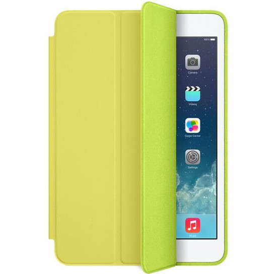 Чехол (книжка) Smart Case Series для Apple iPad mini 5 (Желтый)