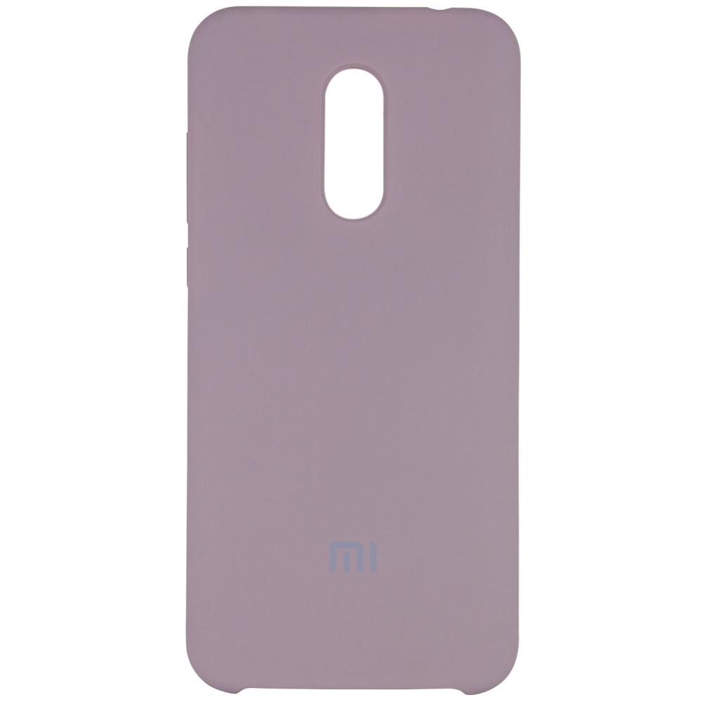 Чехол Silicone case для Xiaomi Redmi 5 Plus / Redmi Note 5 (SC) (Серый / Lavender Gray)