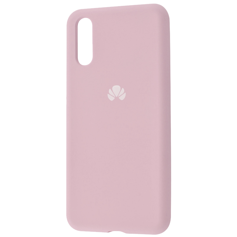 Чехол Silicone Case Full Protective для Huawei P20 (Розовый / Pink Sand)