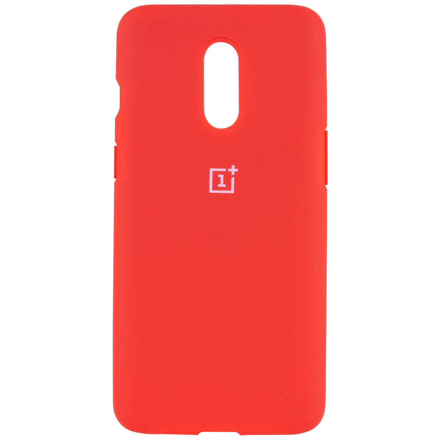 Чехол Silicone Cover Full Protective (AA) для OnePlus 7 (Красный / Red)