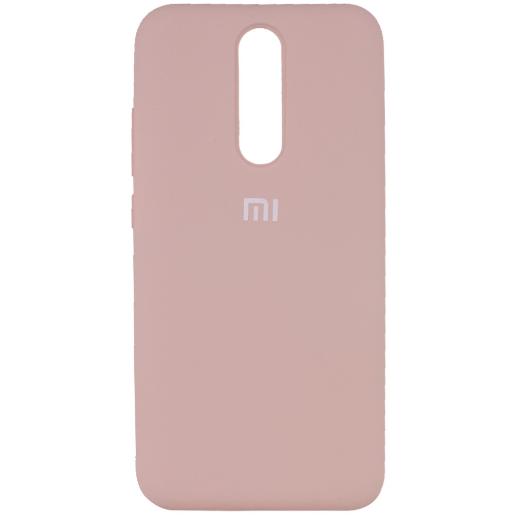 Чехол Silicone Cover Full Protective (AA) для Xiaomi Redmi 8 (Розовый / Pink Sand)