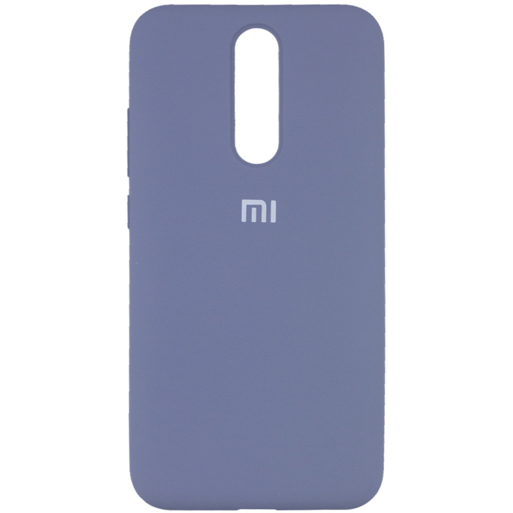 Чехол Silicone Cover Full Protective (AA) для Xiaomi Redmi 8 (Серый / Lavender Gray)