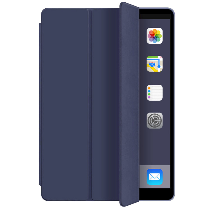 "Чехол (книжка) Smart Case Series для Apple iPad Pro 12.9"" (2018) (Синий / Midnight Blue)"