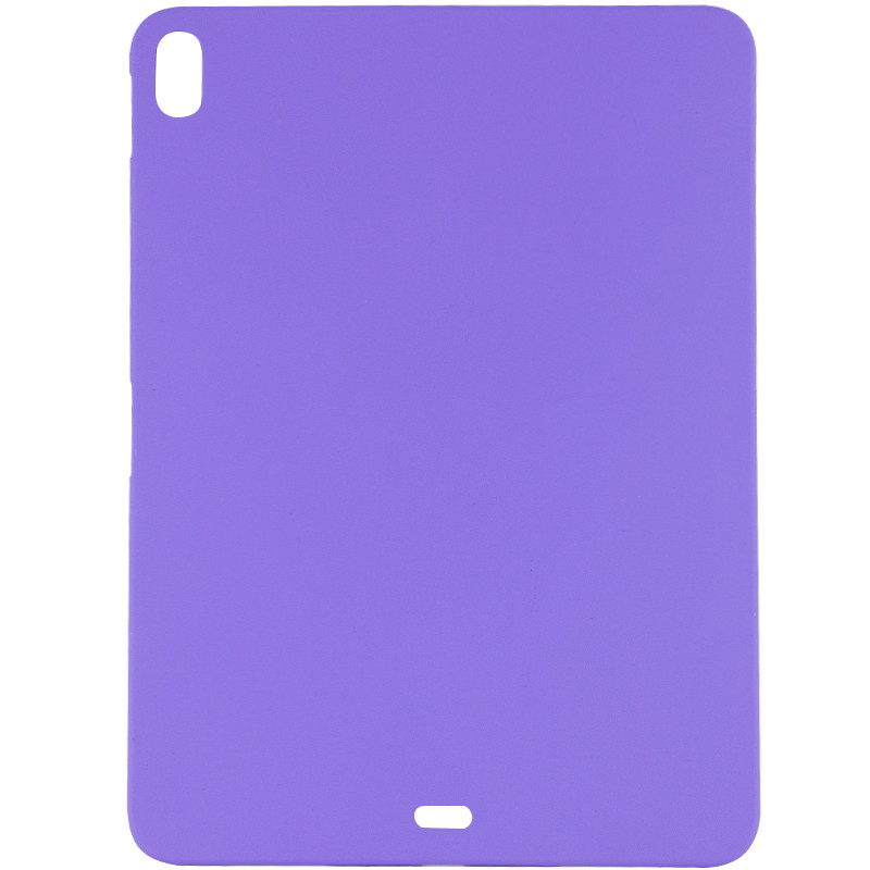 "Чехол Silicone Case Full without Logo (A) для Apple iPad Pro 12.9"" (2018) (Сиреневый / Elegant Purple)"