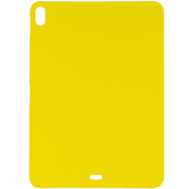 "Чехол Silicone Case Full without Logo (A) для Apple iPad Pro 12.9"" (2018) (Желтый / Neon Yellow)"