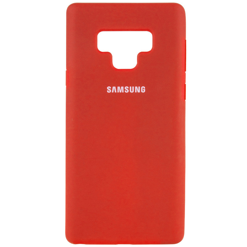 Чехол Silicone Cover Full Protective (AA) для Samsung Galaxy Note 9 (Красный / Red)