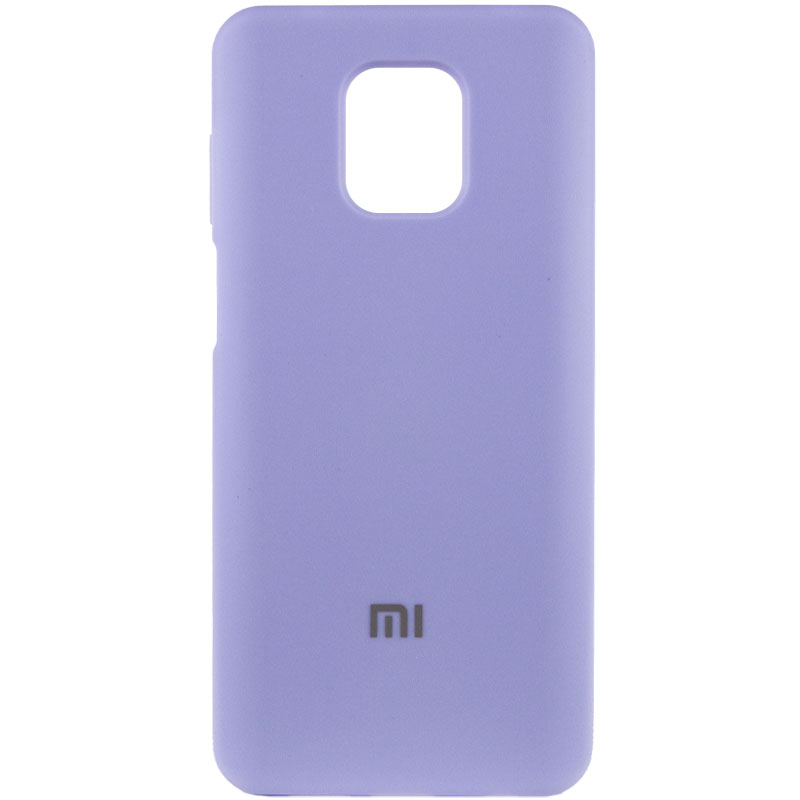 Чехол Silicone Cover Full Protective (AA) для Xiaomi Redmi Note 9 Pro (Сиреневый / Dasheen)