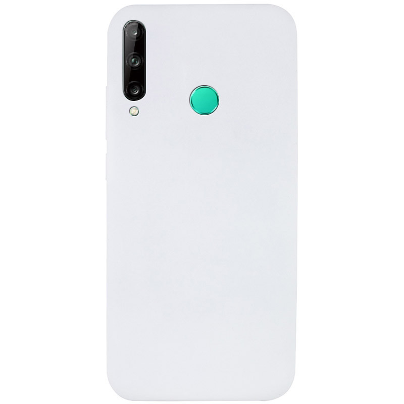 Чехол Silicone Cover Full without Logo (A) для Huawei P40 Lite E / Y7p (2020) (Белый / White)