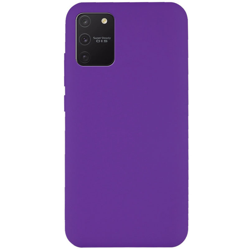 Чехол Silicone Cover Full without Logo (A) для Samsung Galaxy S10 Lite