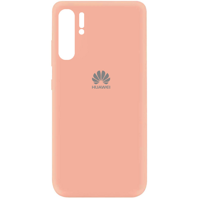 Чехол Silicone Cover My Color Full Protective (A) для Huawei P30 Pro (Розовый / Flamingo)