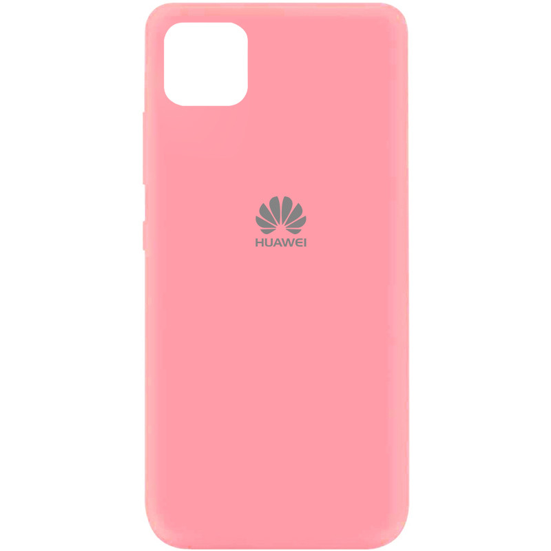 Чехол Silicone Cover My Color Full Protective (A) для Huawei Y5p (Розовый / Pink)
