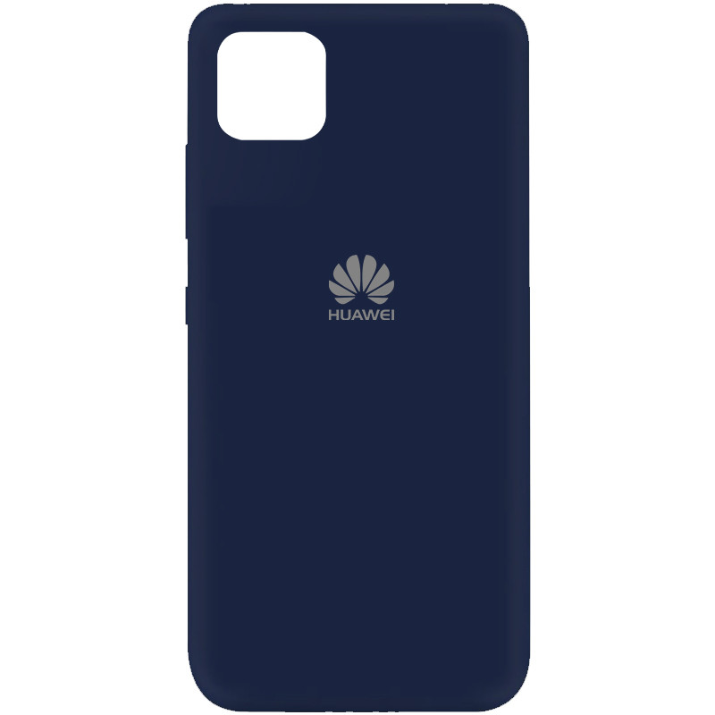 Чехол Silicone Cover My Color Full Protective (A) для Huawei Y5p (Синий / Midnight blue)