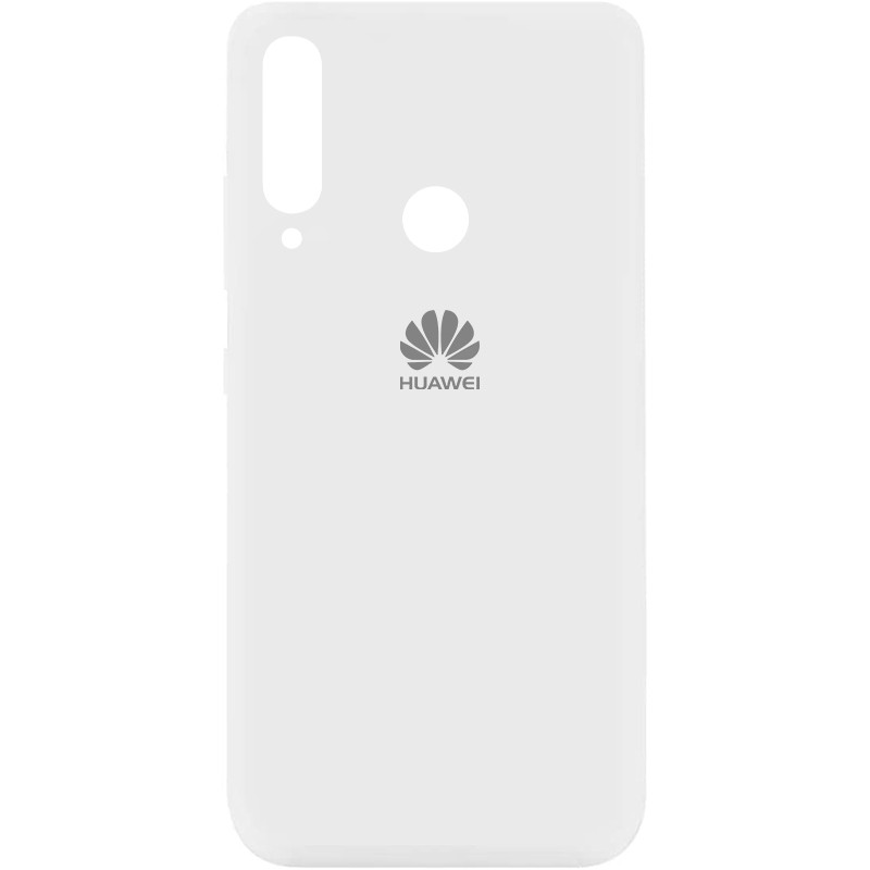 Чехол Silicone Cover My Color Full Protective (A) для Huawei Y7p (2020) (Белый / White)