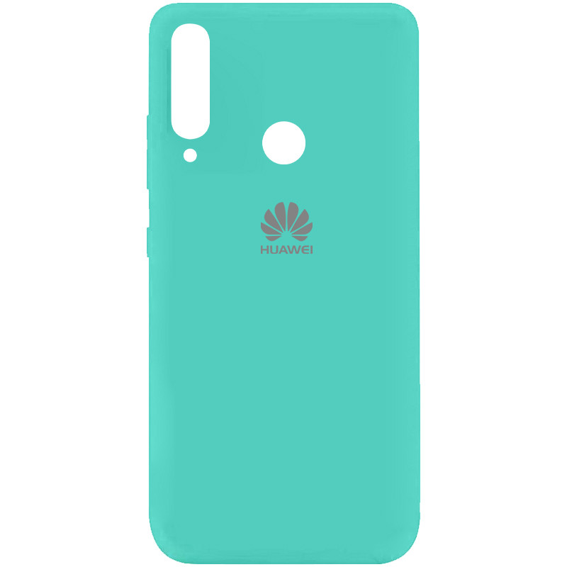 Чехол Silicone Cover My Color Full Protective (A) для Huawei Y7p (2020) (Бирюзовый / Ocean Blue)