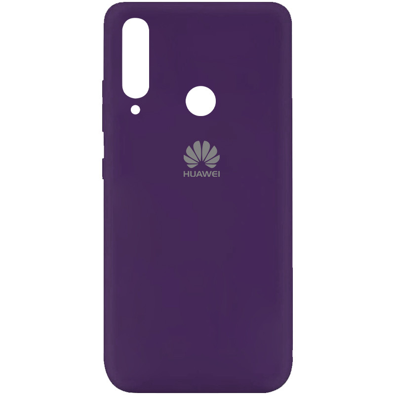 Чехол Silicone Cover My Color Full Protective (A) для Huawei Y7p (2020) (Фиолетовый / Purple)