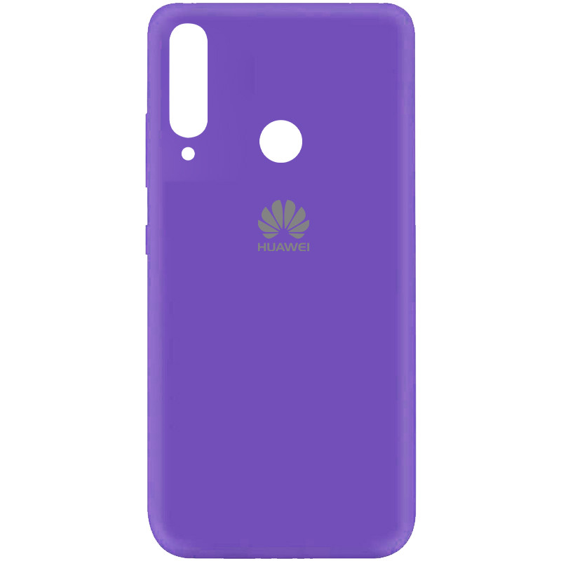 Чехол Silicone Cover My Color Full Protective (A) для Huawei Y7p (2020) (Фиолетовый / Violet)