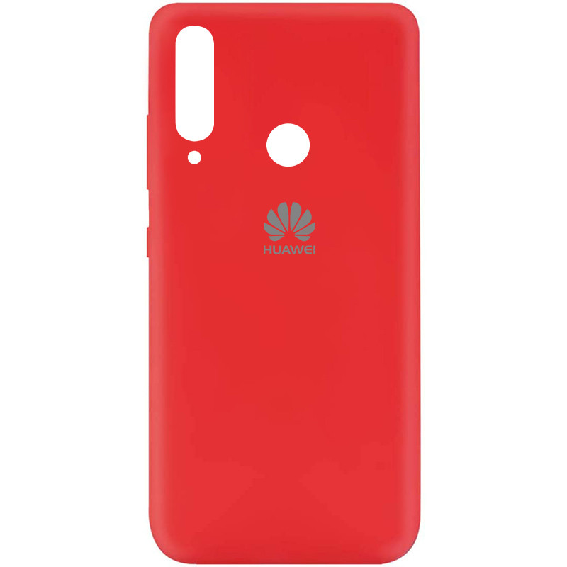 Чехол Silicone Cover My Color Full Protective (A) для Huawei Y7p (2020) (Красный / Red)
