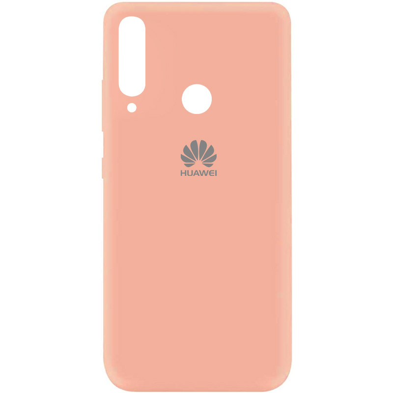 Чехол Silicone Cover My Color Full Protective (A) для Huawei Y7p (2020) (Розовый / Flamingo)
