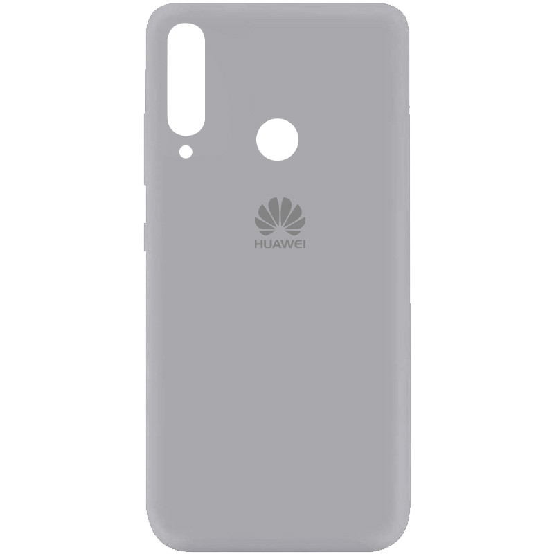 Чехол Silicone Cover My Color Full Protective (A) для Huawei Y7p (2020) (Серый / Stone)