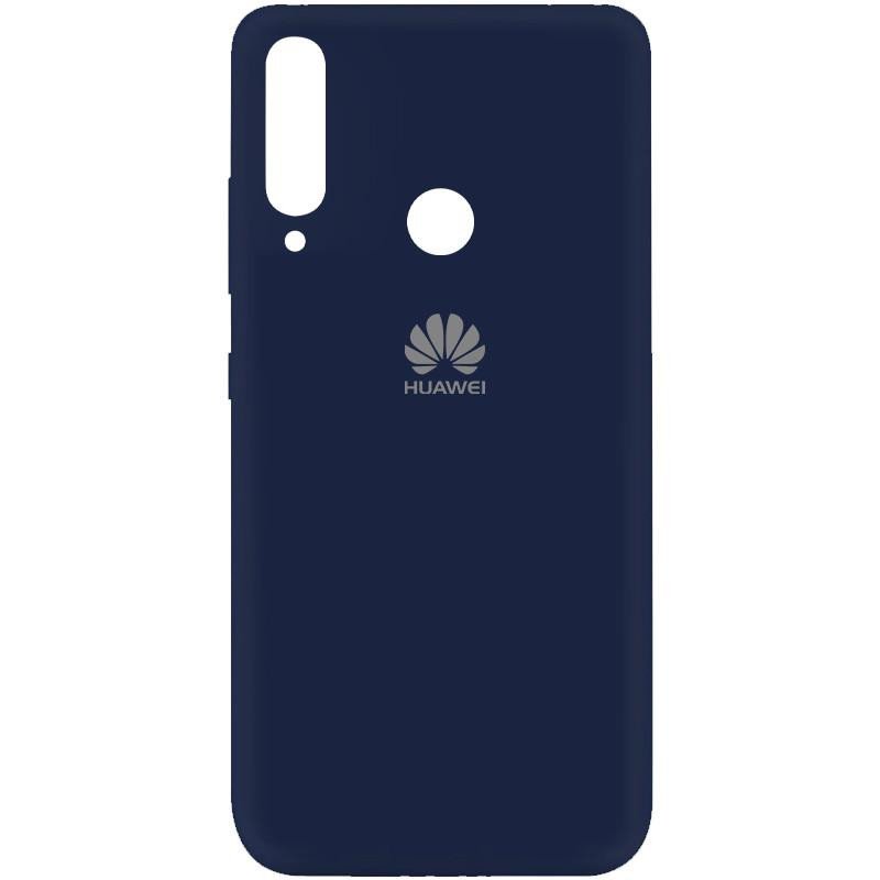 Чехол Silicone Cover My Color Full Protective (A) для Huawei Y7p (2020) (Синий / Midnight blue)