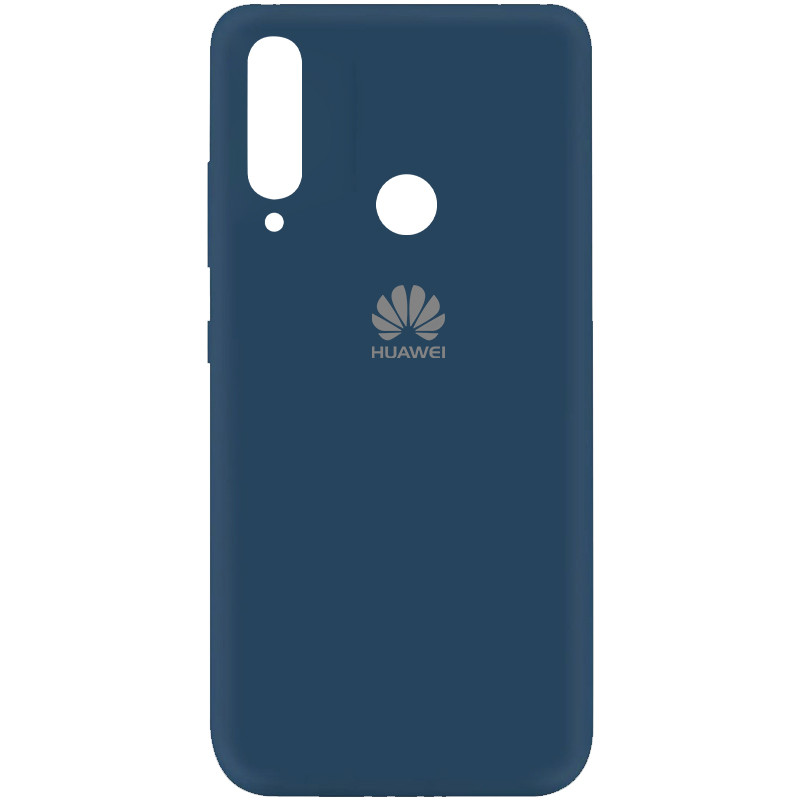 Чехол Silicone Cover My Color Full Protective (A) для Huawei Y7p (2020) (Синий / Navy blue)