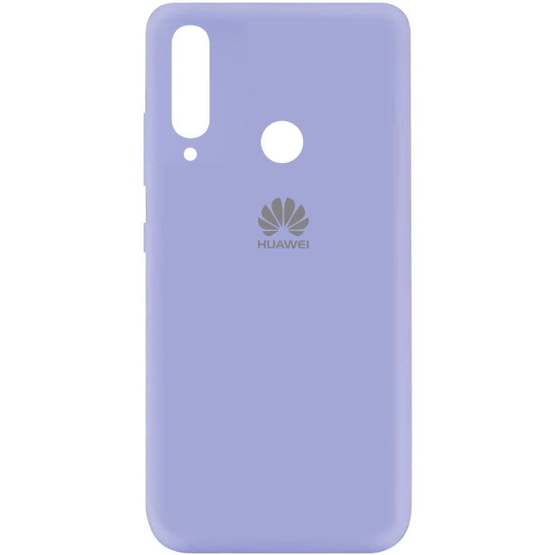 Чехол Silicone Cover My Color Full Protective (A) для Huawei Y7p (2020) (Сиреневый / Dasheen)