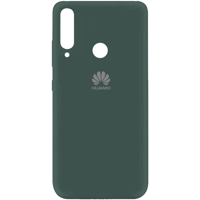 Чехол Silicone Cover My Color Full Protective (A) для Huawei Y7p (2020) (Зеленый / Pine green)