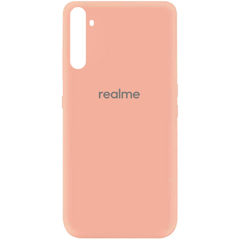 Чехол Silicone Cover My Color Full Protective (A) для Realme 6 (Розовый / Flamingo)