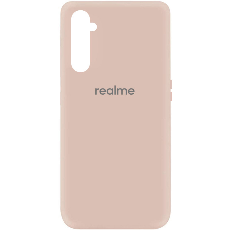 Чехол Silicone Cover My Color Full Protective (A) для Realme 6 (Розовый / Pink Sand)