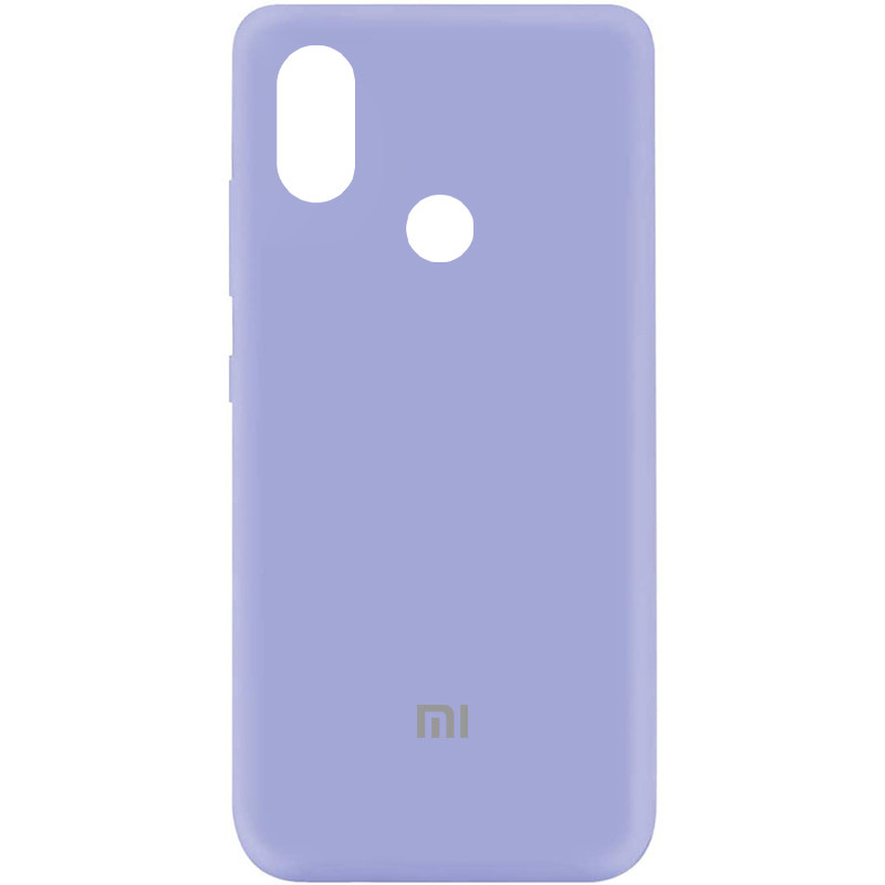 Чехол Silicone Cover My Color Full Protective (A) для Xiaomi Mi 6X / Mi A2 (Сиреневый / Dasheen)