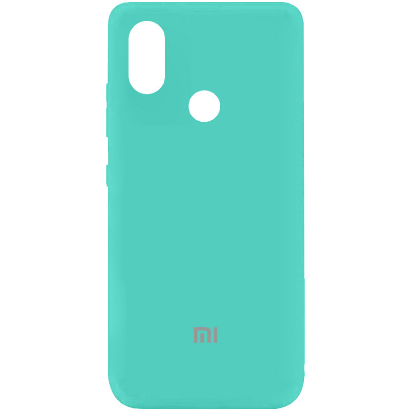 Чехол Silicone Cover My Color Full Protective (A) для Xiaomi Mi A2 Lite (Бирюзовый / Ocean Blue)