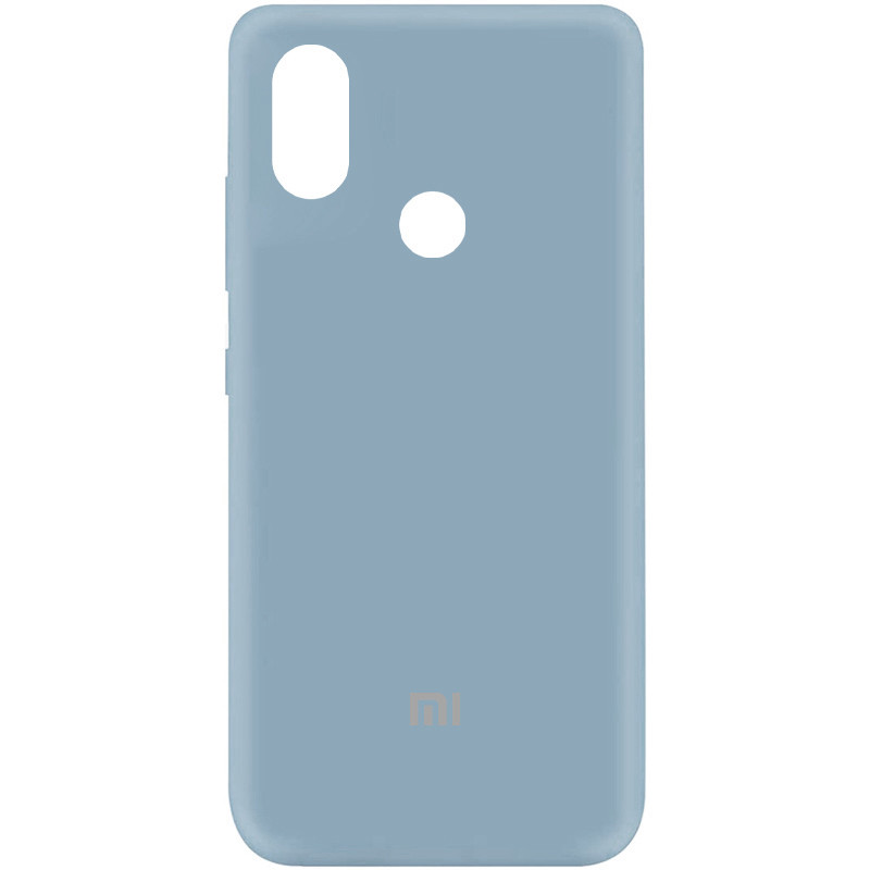 Чехол Silicone Cover My Color Full Protective (A) для Xiaomi Mi A2 Lite (Голубой / Sky Blue)