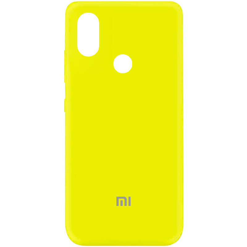 Чехол Silicone Cover My Color Full Protective (A) для Xiaomi Mi A2 Lite (Желтый / Flash)