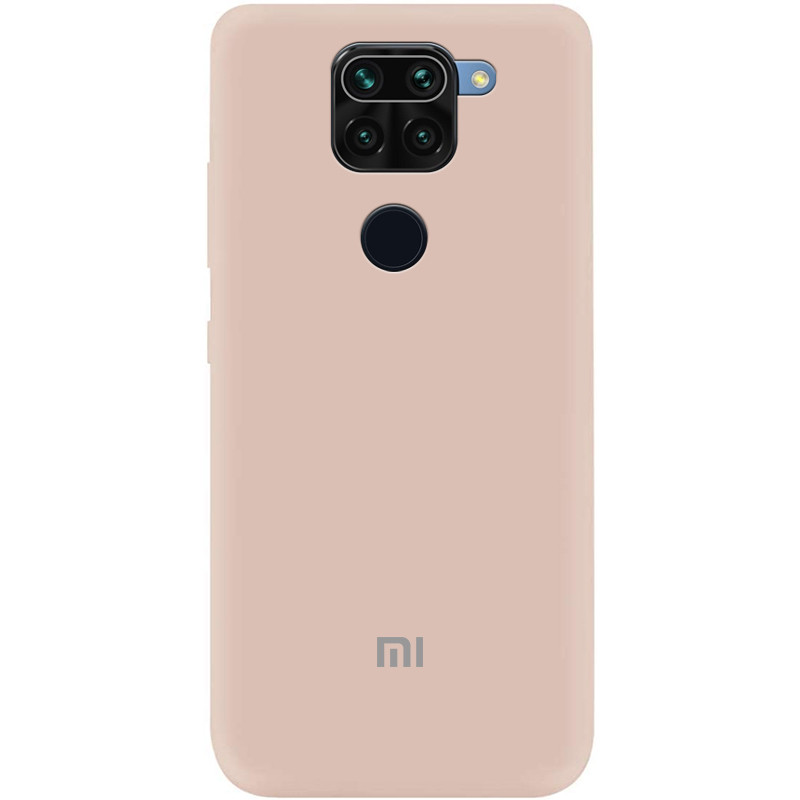 Чехол Silicone Cover My Color Full Protective (A) для Xiaomi Redmi 10X (Розовый / Pink Sand)