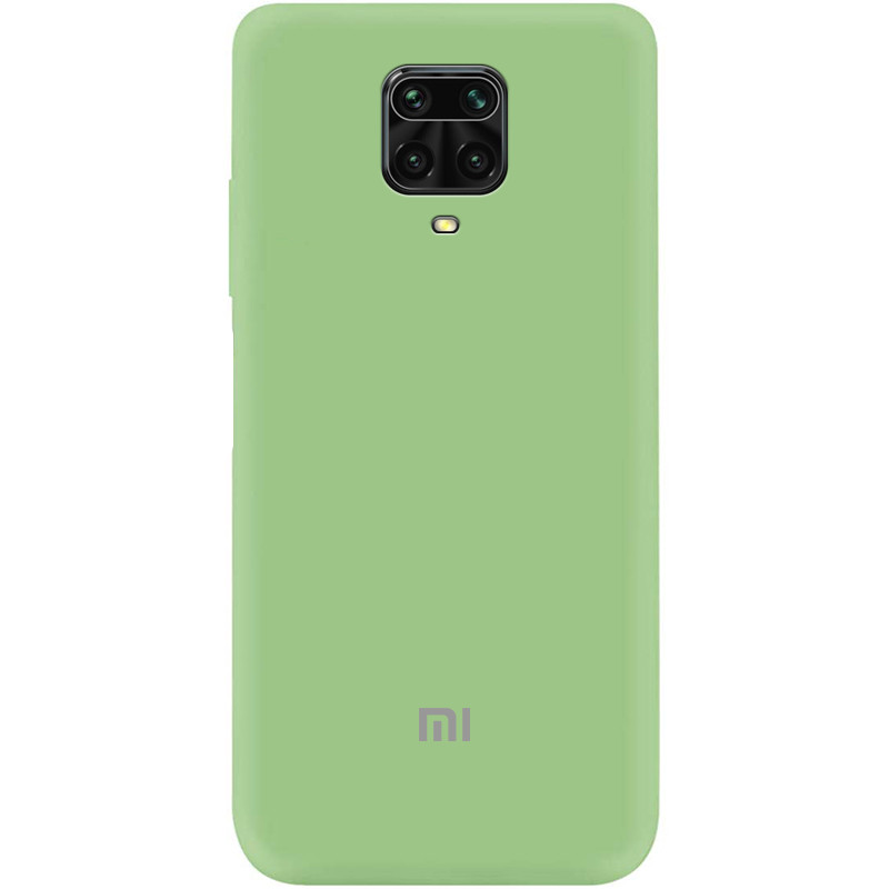 Чехол Silicone Cover My Color Full Protective (A) для Xiaomi Redmi Note 9 Pro (Мятный / Mint)