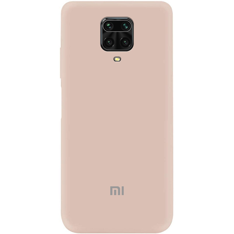 Чехол Silicone Cover My Color Full Protective (A) для Xiaomi Redmi Note 9 Pro (Розовый / Pink Sand)
