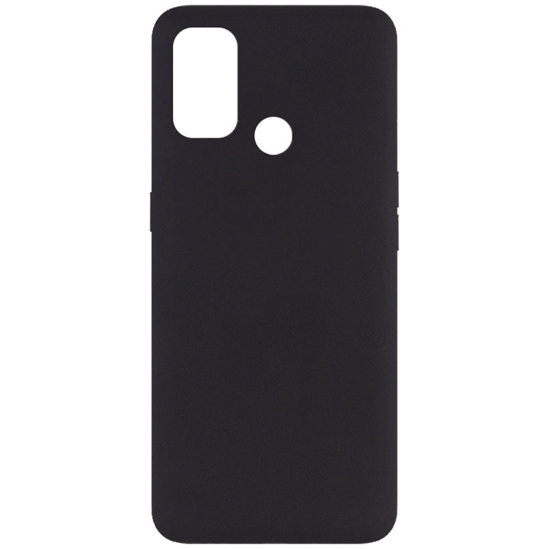 Фото Чехол Silicone Cover Full without Logo (A) для Oppo A53 / A32 / A33 Черный / Black на onecase.com.ua
