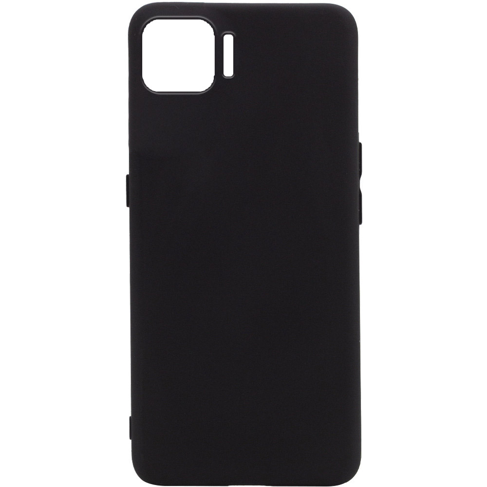 Чехол Silicone Cover Full without Logo (A) для Oppo A73 (Черный / Black)
