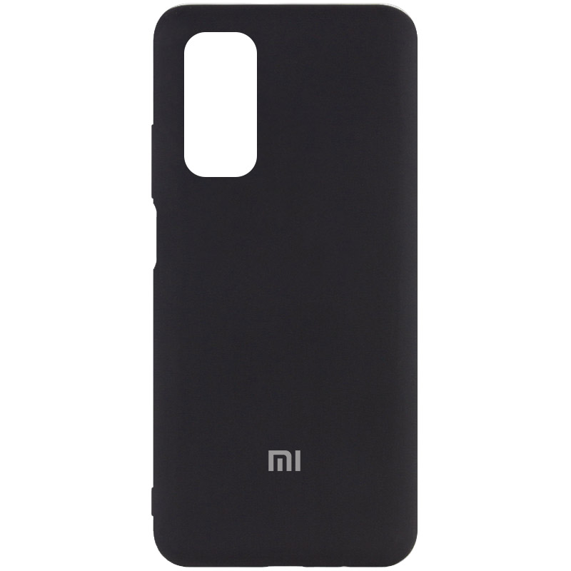 Фото Чехол Silicone Cover My Color Full Protective (A) для Xiaomi Mi 10T / Mi 10T Pro Черный / Black на onecase.com.ua