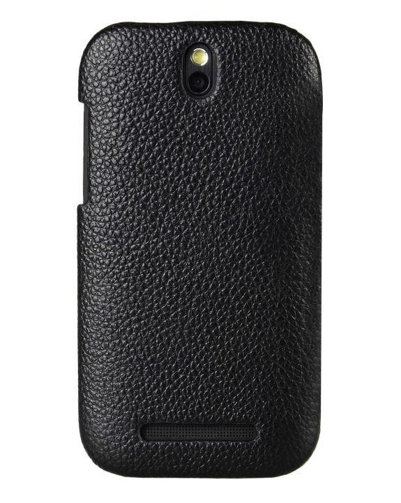 Чохол-накладка Melkco Leather Snap Cover Black for HTC One SV
