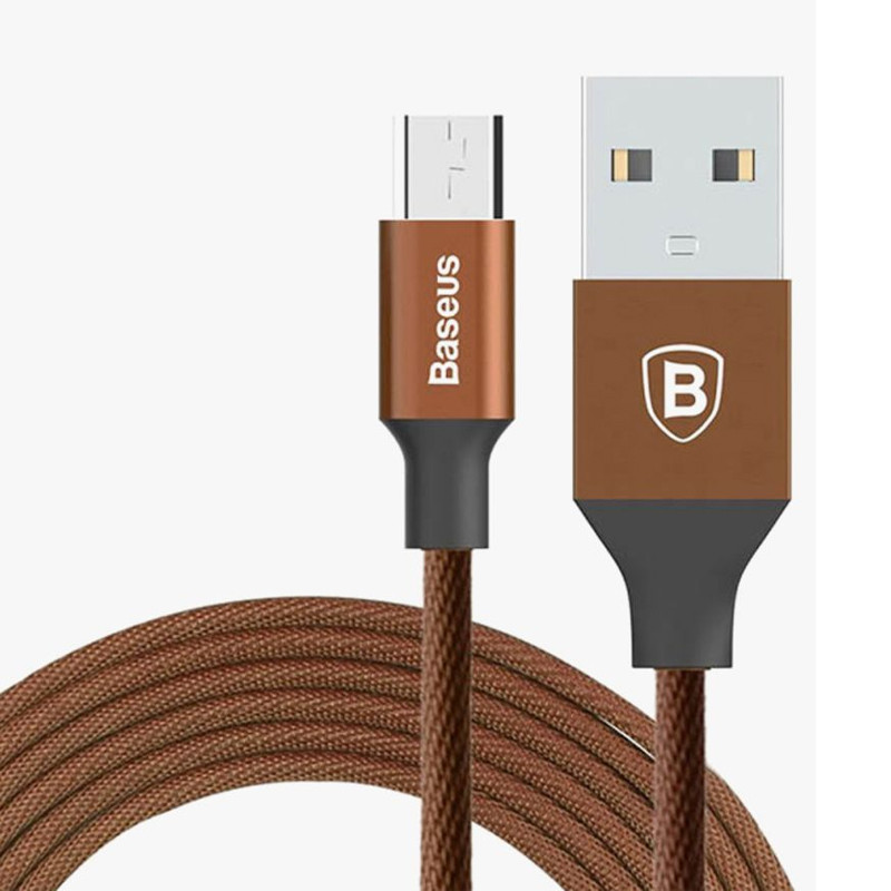 Дата кабель Baseus Yiven Micro USB Cable 2.0A (1m) (coffee)