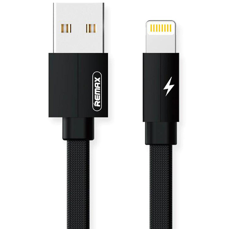 Дата кабель Remax RC-094i Kerolla USB to Lightning (2m) (Черный)