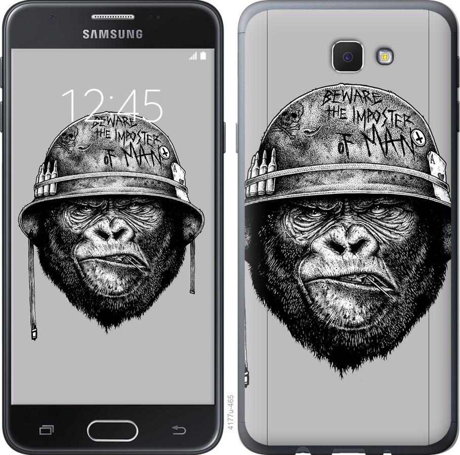 Чехол на Samsung Galaxy J5 Prime military monkey