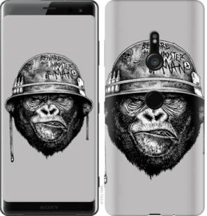 Чехол на Sony Xperia XZ3 H9436 military monkey